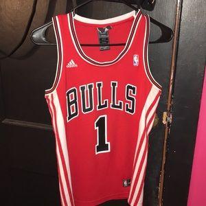 7bb2b81f54d adidas Tops - Adidas Chicago Bulls Derrick Rose Women s Jersey